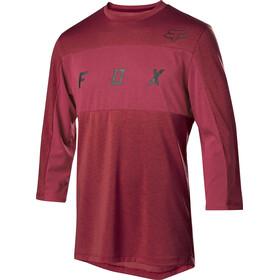 Fox Ranger Dri-Release 3/4 Sleeve Jersey Men cardinal
